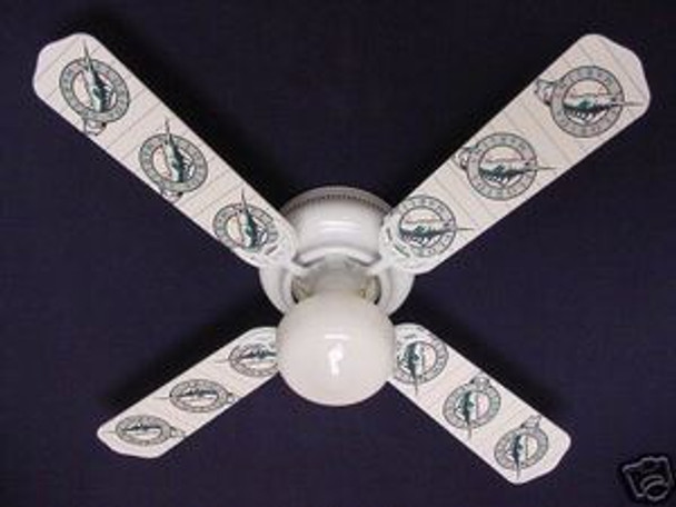 Florida Marlins Baseball Ceiling Fan 42""
