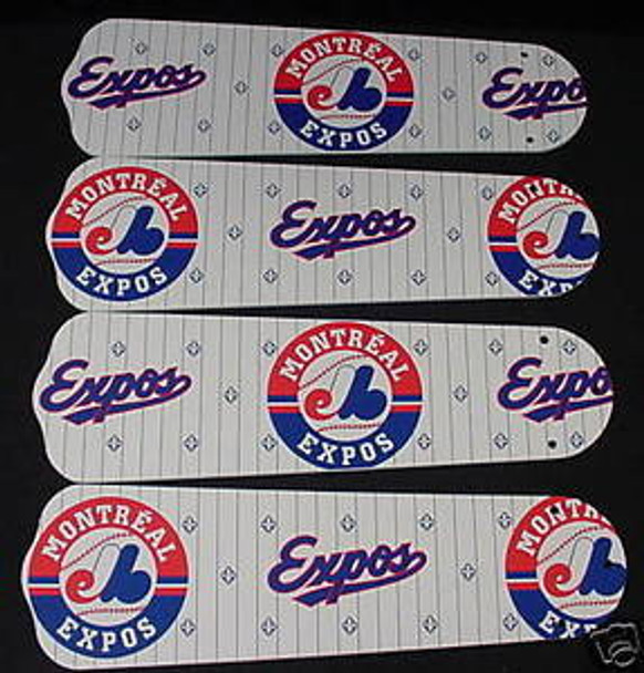 "Montreal Expos Baseball Ceiling Fan 42"" Blades"