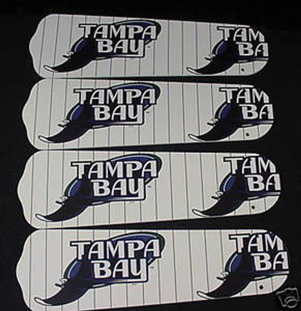 "Tampa Bay Rays Baseball Ceiling Fan 42"" Blades"