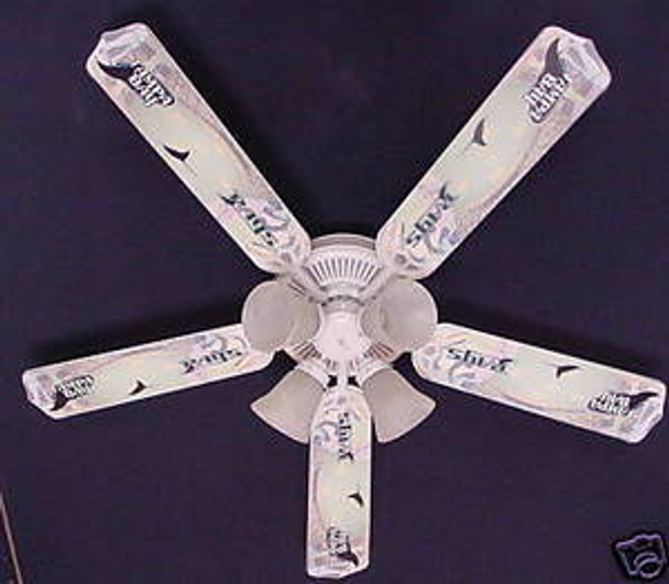 Tampa Bay Rays Baseball Ceiling Fan 52""