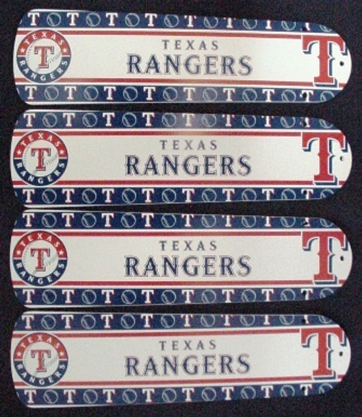 "Texas Rangers Baseball Ceiling Fan 42"" Blades"