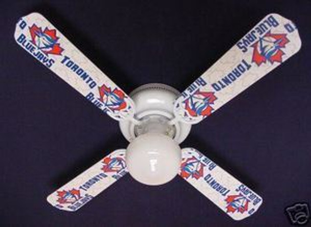 "Toronto Blue Jays Baseball Ceiling Fan 42"""