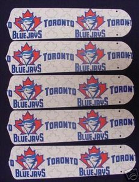 "Toronto Blue Jays Baseball 52"" Ceiling Fan Blades"