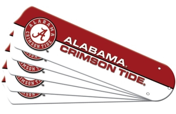 Alabama Crimson Tide Ceiling Fan Blades