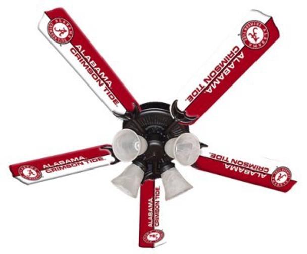 """Alabama Crimson Tide Ceiling Fan 52"""""""