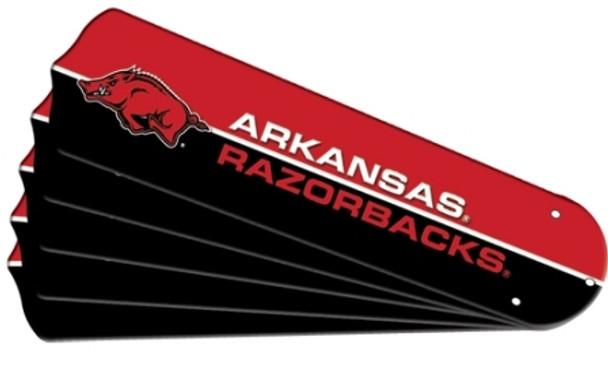 Arkansas Razerbacks Ceiling Fan Blades