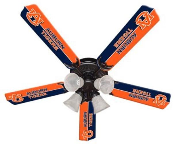 """Auburn Tigers 52"""" Ceiling Fan"""