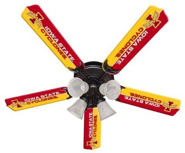 "NCAA Iowa State Cyclones 52"" Ceiling Fan"