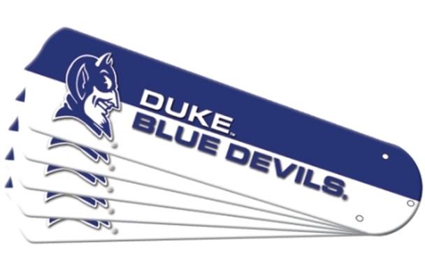 """NCAA Duke Blue Devils Ceiling Fan Blades For 52"""" Fans"""