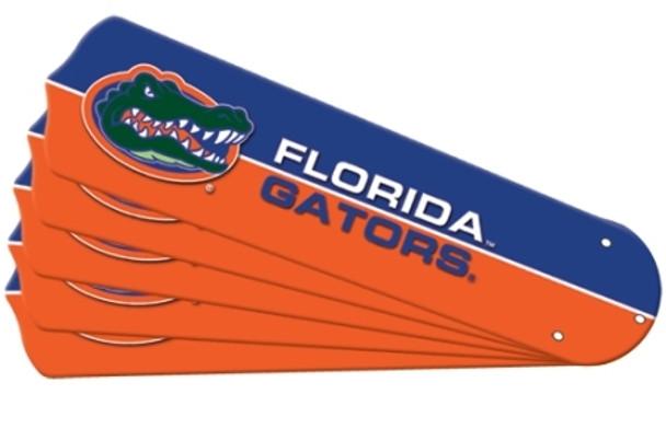"NCAA Florida Gators Ceiling Fan Blades For 52"" Fans"