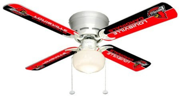 "NCAA Louisville Cardinals 42"" Ceiling Fan"