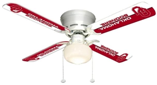 "NCAA Oklahoma Sooners 42"" Ceiling Fan"