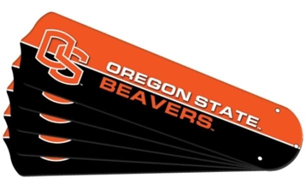 "NCAA Oregon State Beavers Ceiling Fan Blades For 42"" Fans"