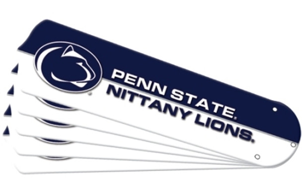 """NCAA Penn State Nittany Lions Ceiling Fan Blades For 52"""" Fans"""