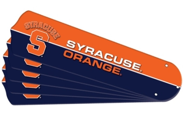 "NCAA Syracuse Orange Ceiling Fan Blades For 52"" Fans"