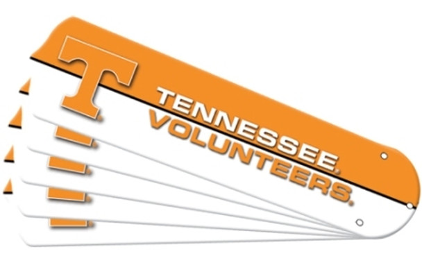 "NCAA Tennessee Volunteers Ceiling Fan Blades For 52"" Fans"