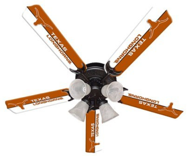 "NCAA Texas Longhorns 52"" Ceiling Fan"