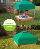 Optional Telescoping Canopy & Cover