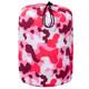 Camo Pink Sleeping Bag in Bag