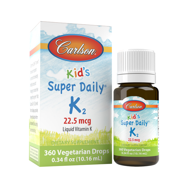 Super Daily® K2 provides vitamin K2 as MK-7, an enhanced, bioactive form of vitamin K that has superior retention in the body.