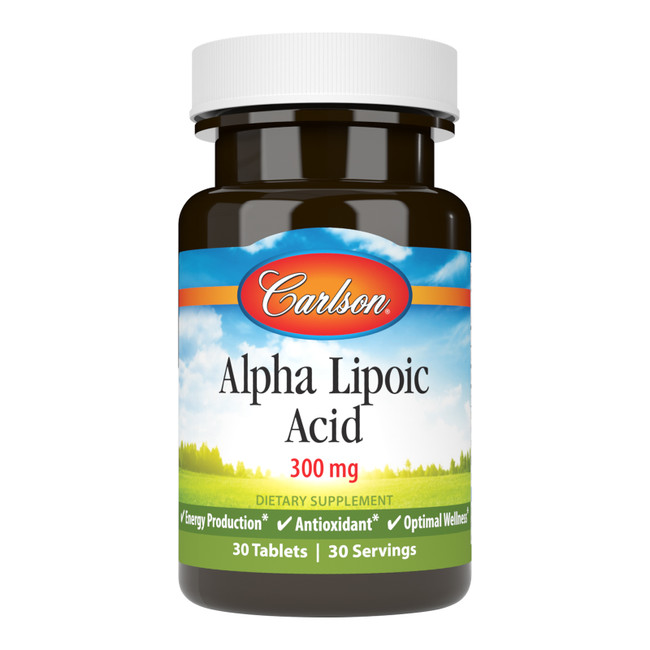 Alpha Lipoic Acid plays an important role in converting food to energy and can also help scavenge free radicals.