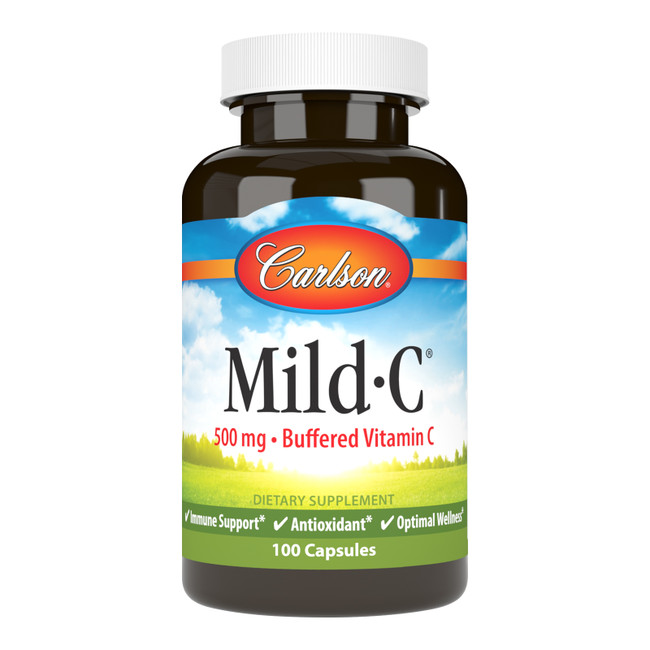 Mild-C capsules contain a non-acidic form of vitamin C that's gentle on the teeth and mild in the stomach.