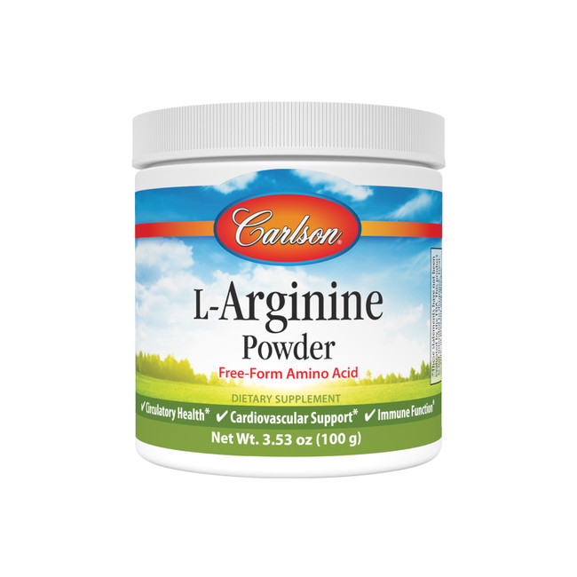 L-Arginine is a precursor of nitric oxide, which is necessary for the healthy dilation of blood vessels, circulation, and blood flow.