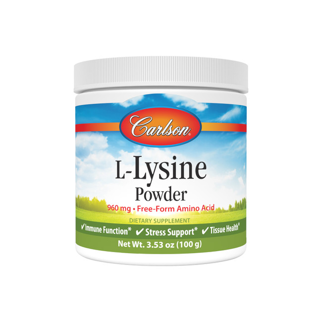 L-Lysine is an essential amino acid that supports healthy tissue and muscle development and is important for protein growth.