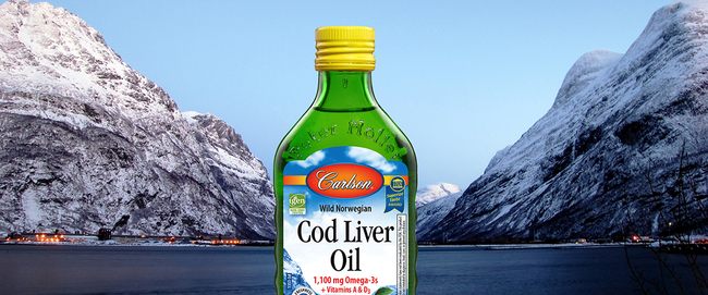 #1 Cod Liver Oil in the US