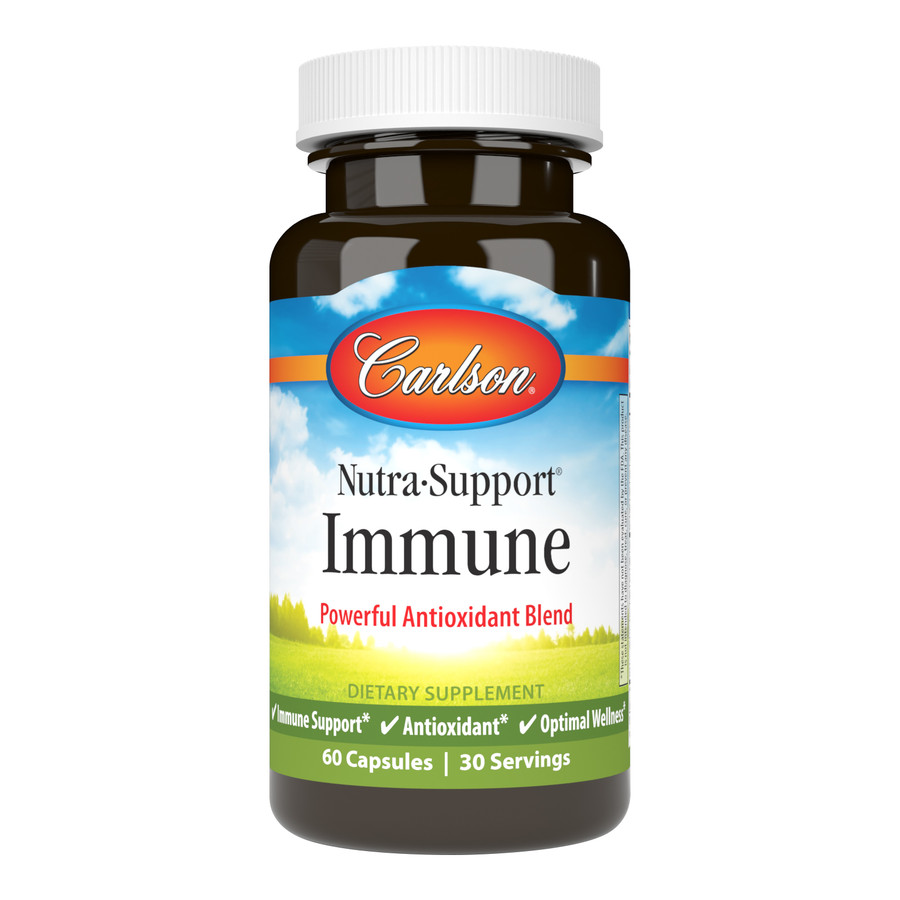 """Nutra-Support® Immune provides a power blend of the most beneficial antioxidants for promoting healthy immune system function. Glutathione, recognized as the """"master"""" antioxidant, is the most abundant and powerful antioxidant in our body."""