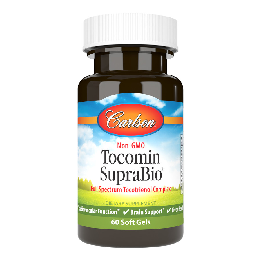 Carlson Tocomin SupraBio® is derived from the fresh, red virgin palm oil of ripe palm fruits and manufactured with a patented bioenhanced system for maximum absorption.