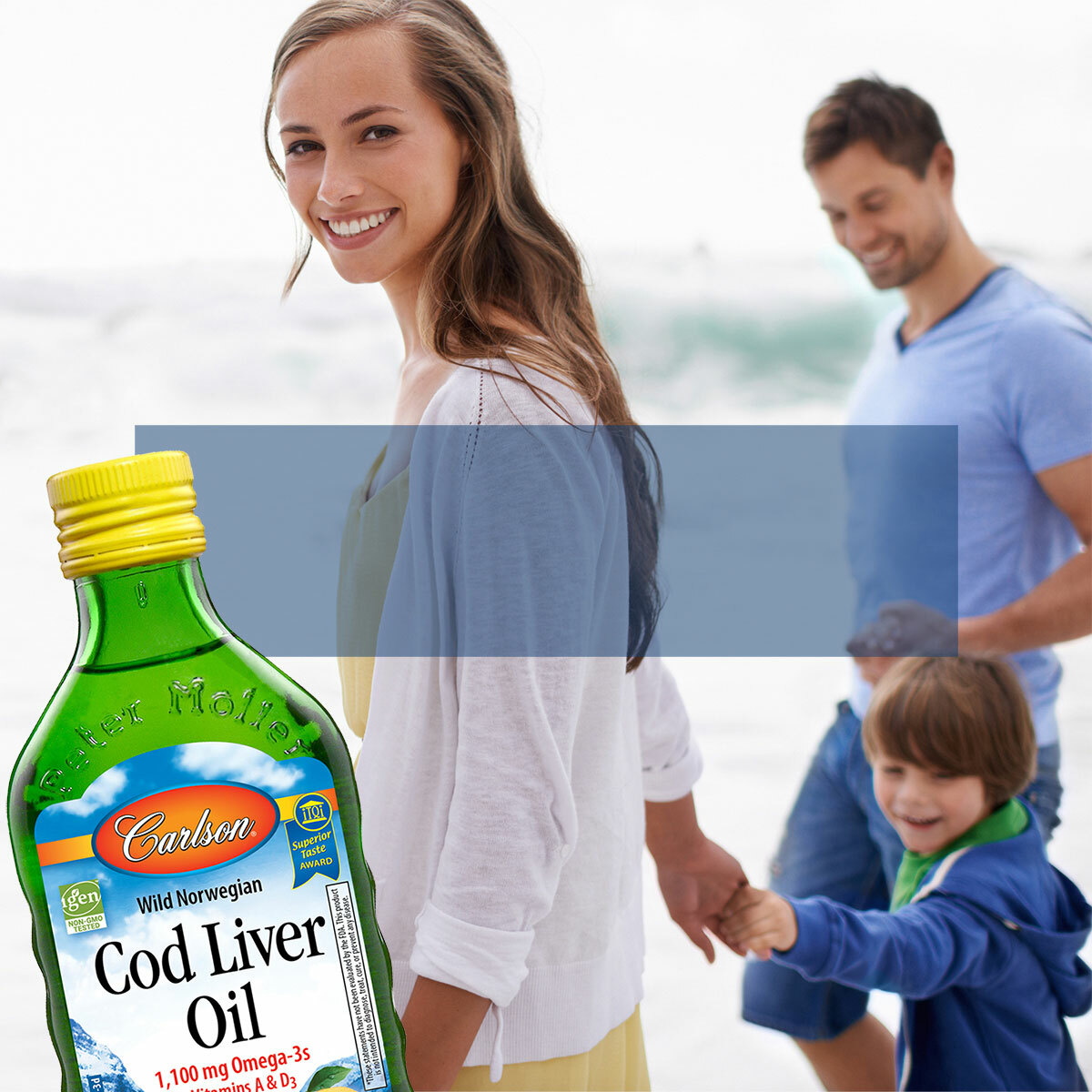 #1 Cod Liver Oil in the US*