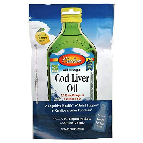 Cod Liver Oil, Pouch of Packets