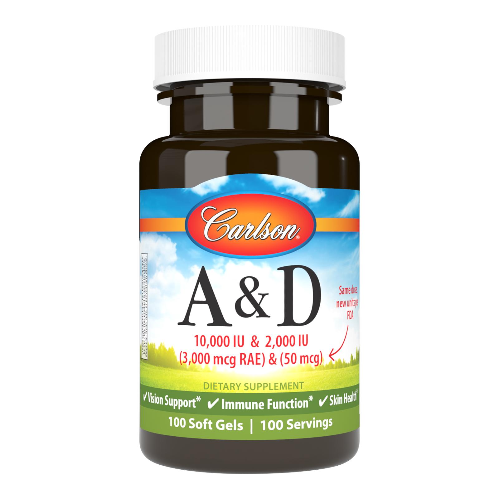 Vitamins A & D 10,000 IU + 2,000 IU