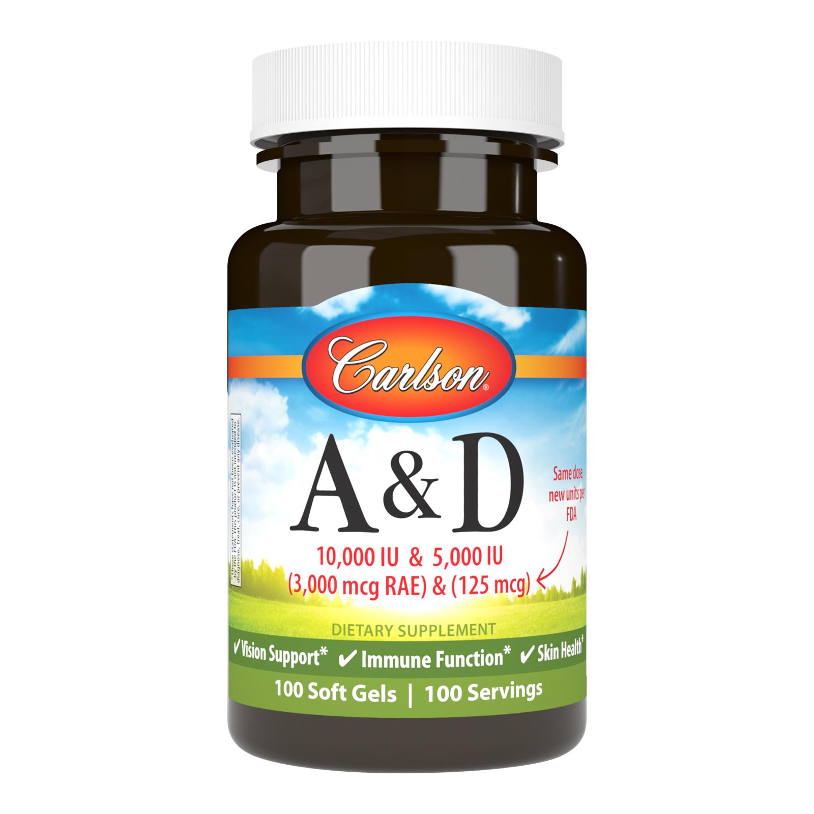 Vitamins A & D 10,000 IU + 5,000 IU