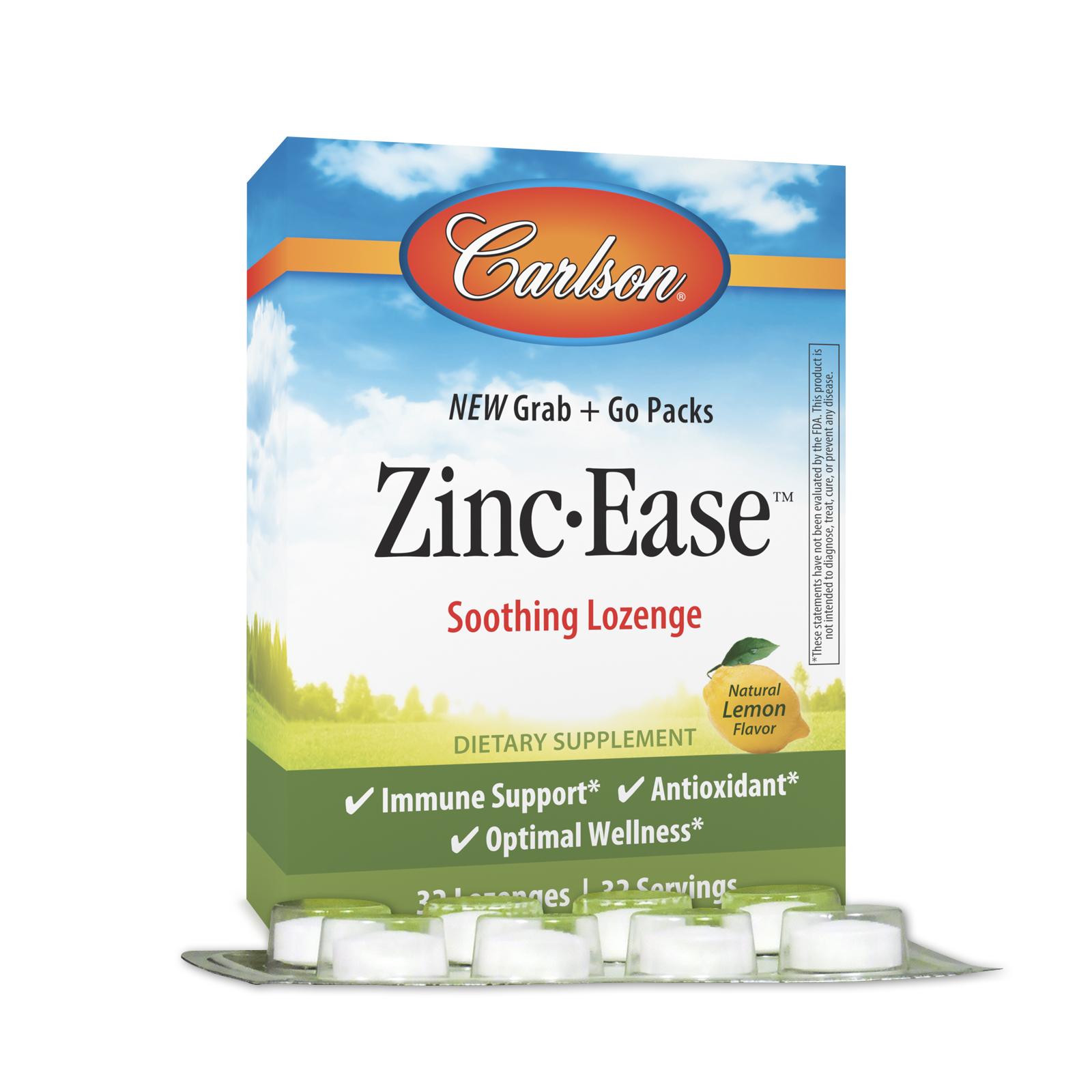 Zinc-Ease™ Grab + Go Packs