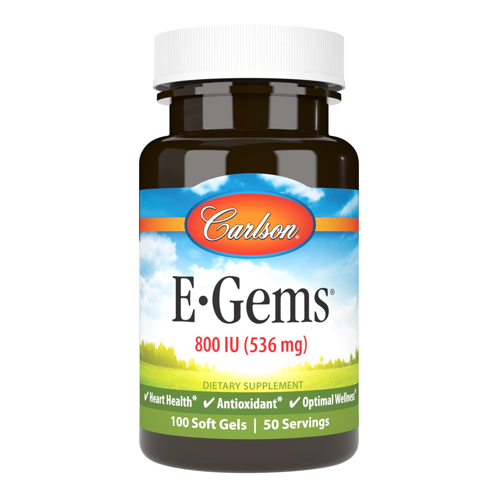 E-Gems® 800 IU (536 mg)