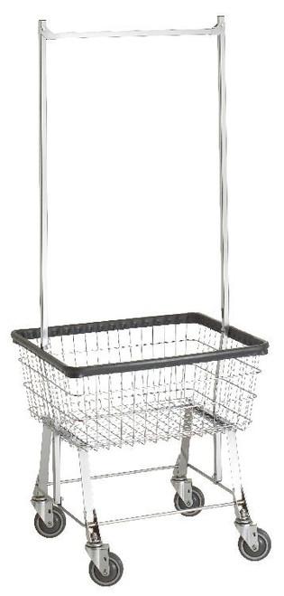 Economy Cart With Double Pole Rack