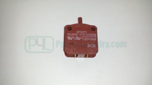 F340200 Door Handle Lock Switch Red