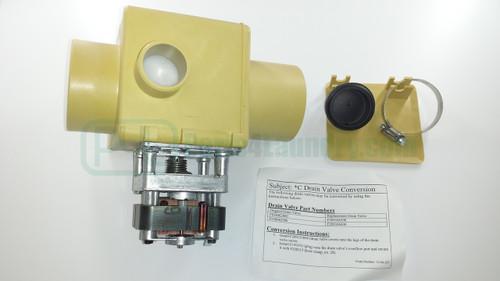F200166300, F200166302, F038062800 3In Drain Valve Kit 110V -120V