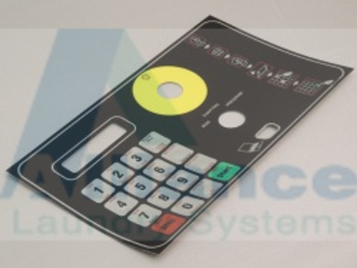 F9001561R2 Overlay Keypad We-8 ( OBSOLETE-NO LONGER AVAILABLE )