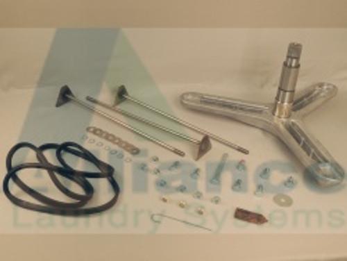 800749P Trunnion Shaft + Hardware Kit