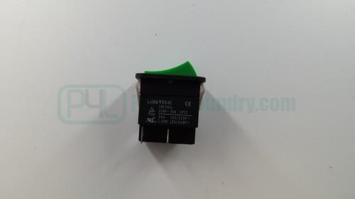 70455101 512562P Rocker Switch Green