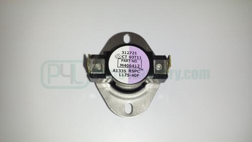 M406412 Thermostat Limit 175?øF Violet/white