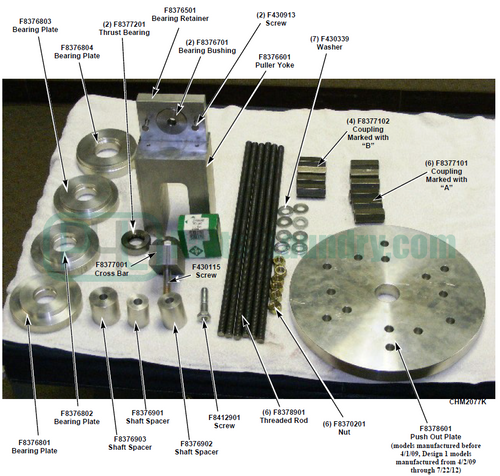 389P4 389P3 Press Fit Kit Tool