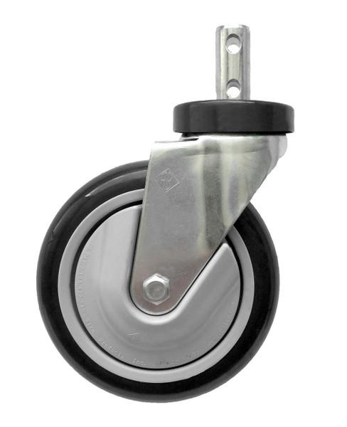 5 Inch Caster Cart Wheel Gray CSTR88G