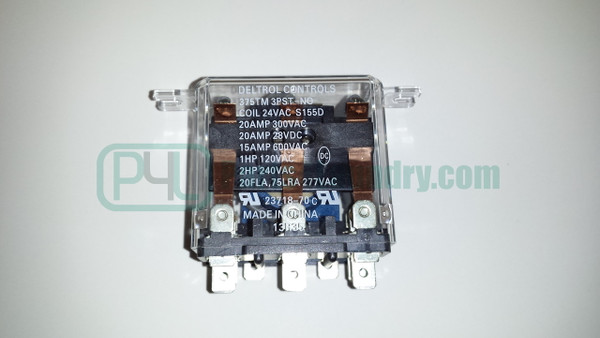 70210901P Motor Relay 24V 50 / 60Hz 3Pst