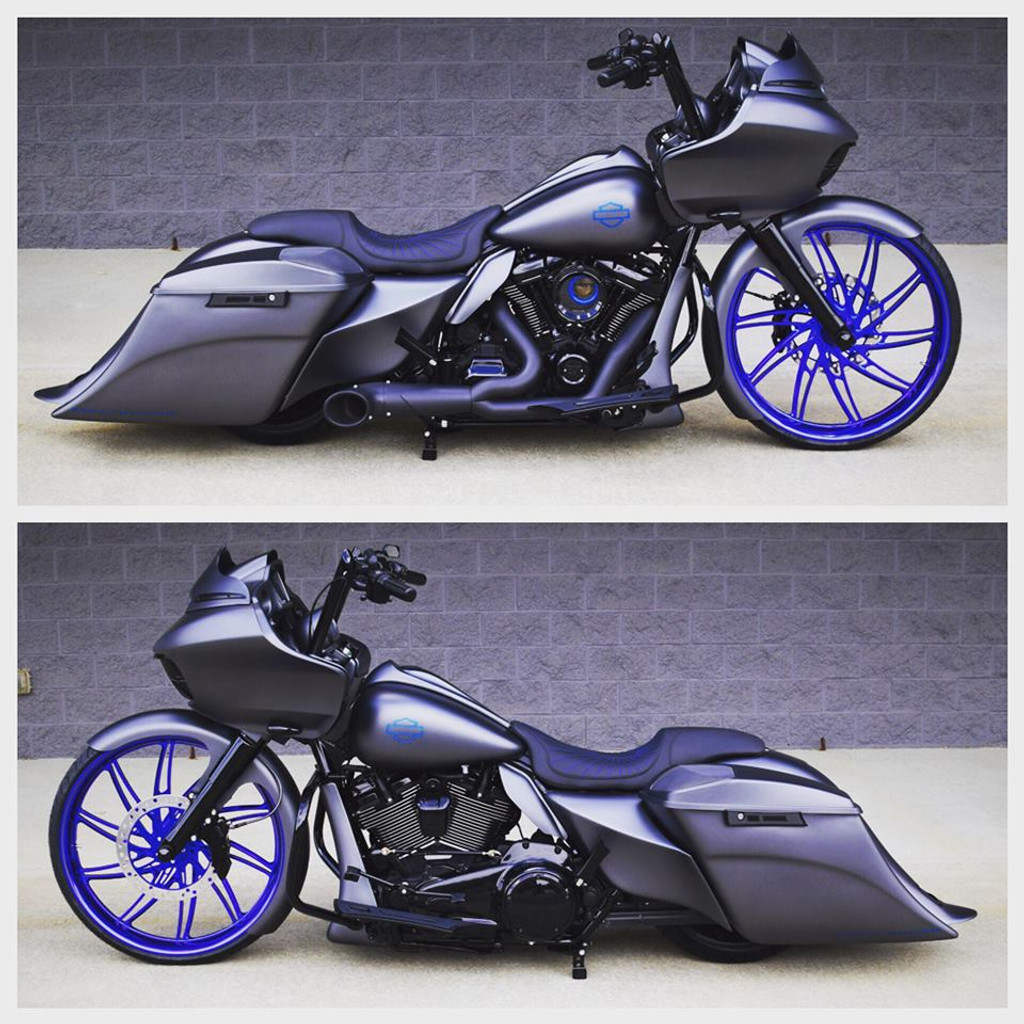 """B26/14 Bolt On Neck and Trees, to fit 26"""" or FAT 23 wheel on 2014 up HD Touring"""