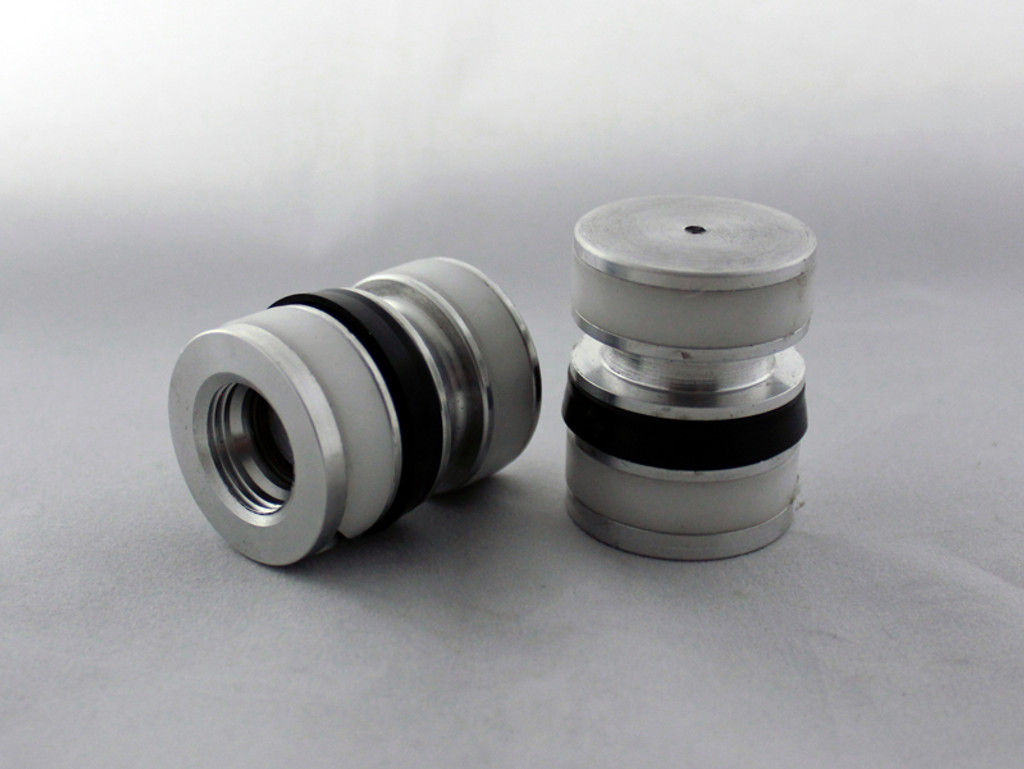 AR-70/41S Fork Tube Air Ride Kit for 2013 and older 41mm Harley Davidson Baggers - 41mm pistons,  Air Caps, Springs, Fitting and line