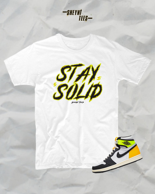 Stay Solid Short Sleeve Tee